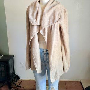 Finn Wright Mason 100% merino wool duster cardigan